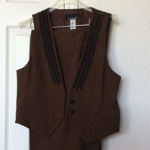 Jones New York pants and vest